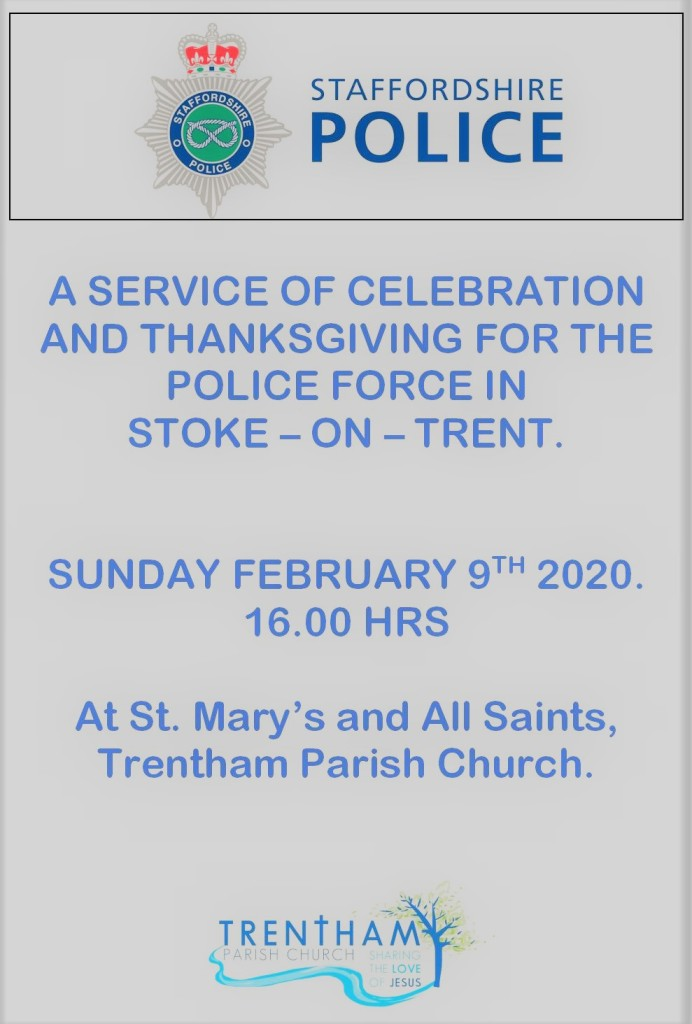 Police thanksgiving celebration (9 February 2020)