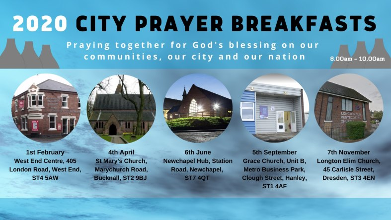 Stoke-on-Trent City Prayer Breakfasts (2020)